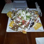Tulum Chicken nachos, mmm very good!