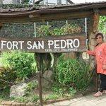 Fort San Pedro. worth the visit