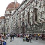 Close to Piazza del Duomo.