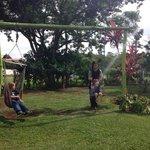 The swings at Casa Batsu