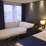 Holiday Inn Express Edinburgh Airport's Sleeper Sofa