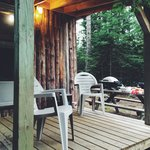 Outside the Cabin