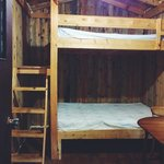 Inside the Cabin (2 Double Bunk Beds)