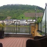 Mosel river from room balcony