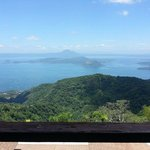 Breath-taking view of Taal Lake