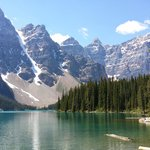 Mountainscapes around Lake Moraine