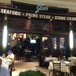 Delicious food at Joe's