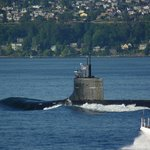 Oh Yes!  A Nuclear Sub with an Armed Escort