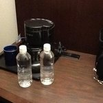 Coffee Maker & fill your own bottle of H2O