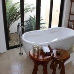 Bañera de la villa