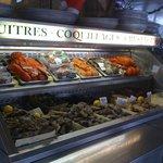 Du banc d'huîtres a votre table ....