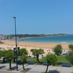 A few steps away from the Beach of El Sardinero.