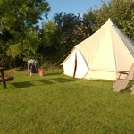 This is not the B&B! - it is their Glamping Bell tent.
