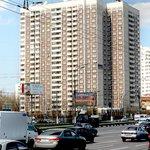 Апартотель Эридан. Вид с Варшавского шоссе