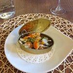 Sardines marinées au vin blanc