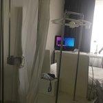 Douche et chambre