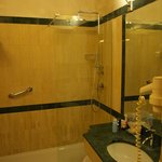 Our bathroom with walk in shower
