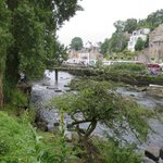 River view - La Chaumiere away ro right