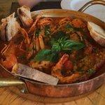 Seafood soup Al Pirata