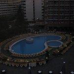 uitzicht kamer zwembad