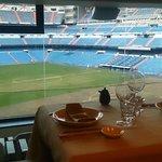 Vista desde la mesa