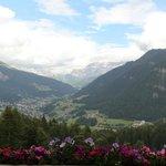Vista sulla Val Gardena