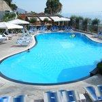 The beach pool