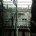 Il Big Ben dall'ottavo piano