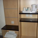 Facilities with kettle for tea/coffee etc