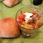 Insalata di quinoa piccolo aperitivo