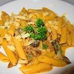 Delicious pasta at Mediterra