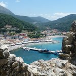 View over Parga from the Castle