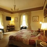 Room 4: large en-suite room offering king-size or twin beds, with views over the fells