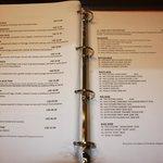 In room menu