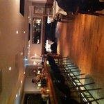 L'interno entrando nel ristorante