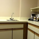 Kitchenette in the hospitality suite, Club floor