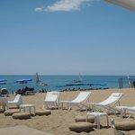 Zona Hamacas en Beach Club