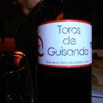 Superb local wine
