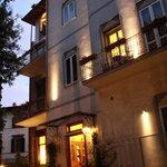 Hotel David - entrance