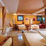Hotel Olympia Wellnessbereich