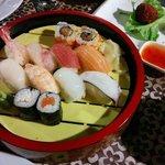 sushi set da 13 euro