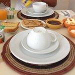 Desayuno básico.