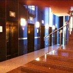 Algunos de los 18 ascensores