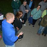 Paranormal investigators join us at Canalside for a ghost hunt.
