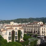 view of Sorrento from roof