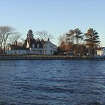 Mansion House from Chincoteague Bay