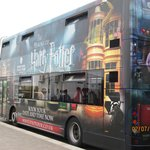 Harry Potter themed double decker