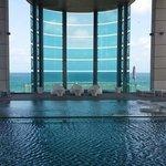 Fabulous Pool Area overlooking the beach