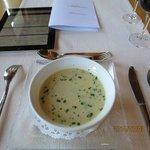 dinner;garlick soop