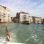 Great water taxi ride to Hotel from train station all arranged by Concierge of Hotel